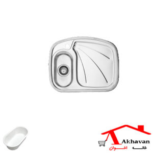 سینک ظرفشویی توکار کد 1 اخوان - خانه اخوان