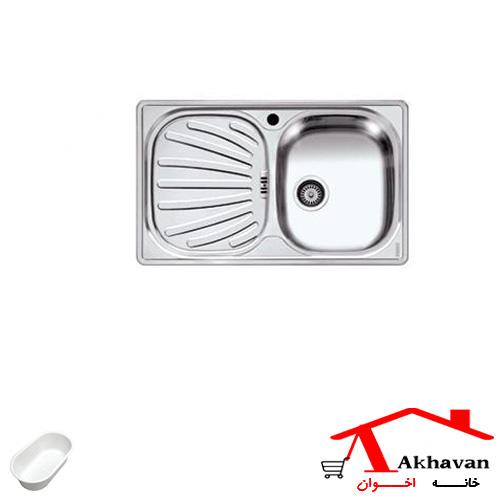 سینک ظرفشویی توکار کد 14 اخوان - خانه اخوان