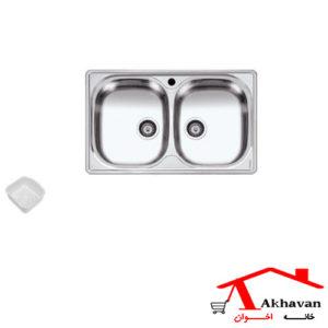سینک ظرفشویی توکار کد 15 اخوان - خانه اخوان