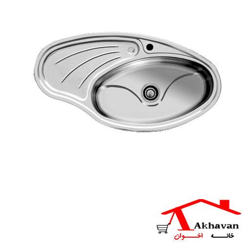 سینک ظرفشویی توکار کد 108 اخوان - خانه اخوان