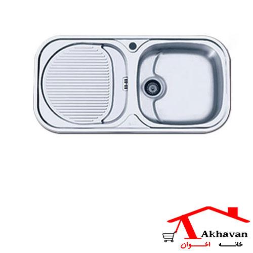 سینک ظرفشویی توکار کد 109 اخوان - خانه اخوان