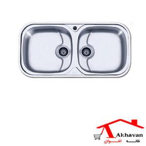 سینک ظرفشویی توکار کد 110 اخوان - خانه اخوان