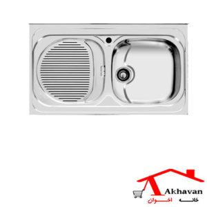 سینک ظرفشویی روکار کد 111 اخوان - خانه اخوان