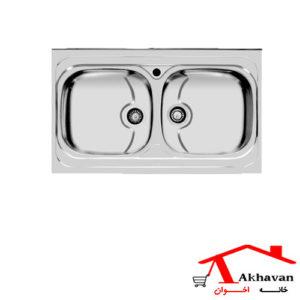 سینک ظرفشویی روکار کد 112 اخوان - خانه اخوان
