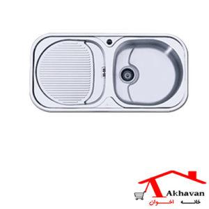 سینک ظرفشویی توکار کد 113 اخوان - خانه اخوان