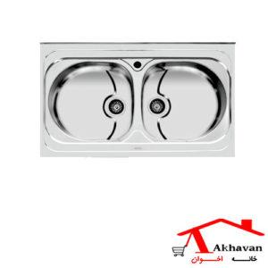 سینک ظرفشویی روکار کد 116 اخوان - خانه اخوان