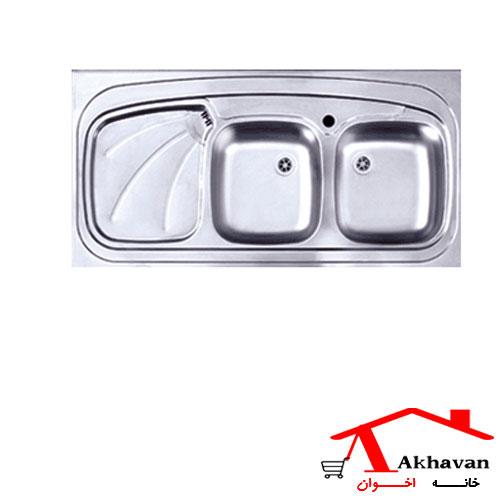 سینک ظرفشویی روکار کد 121 اخوان - خانه اخوان