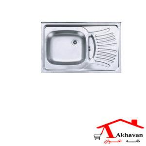 سینک ظرفشویی روکار کد 124 اخوان - خانه اخوان