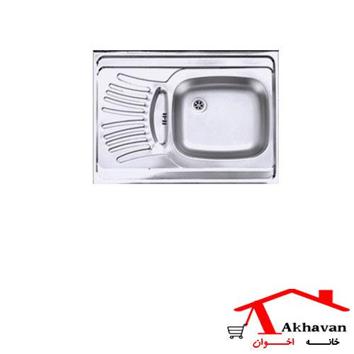 سینک ظرفشویی روکار کد 126 اخوان - خانه اخوان