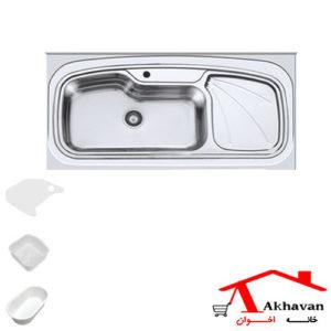 سینک ظرفشویی روکار کد 134 اخوان - خانه اخوان