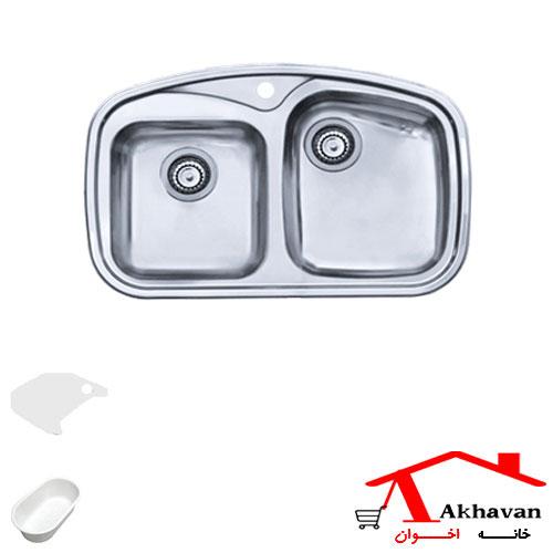 سینک ظرفشویی توکار کد 140 اخوان - خانه اخوان