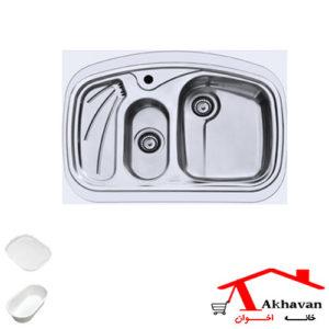 سینک ظرفشویی روکار کد 142 اخوان - خانه اخوان