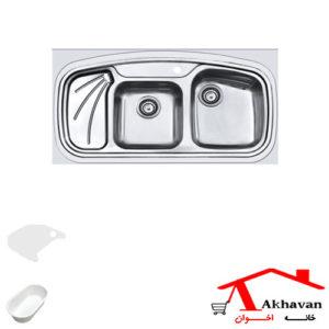سینک ظرفشویی روکار کد 144 اخوان - خانه اخوان