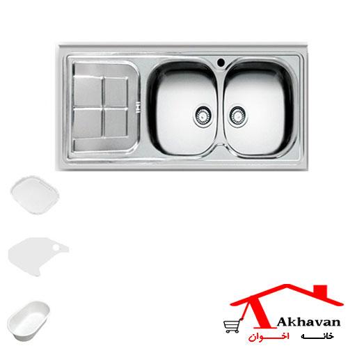 سینک ظرفشویی روکار کد 146 اخوان - خانه اخوان