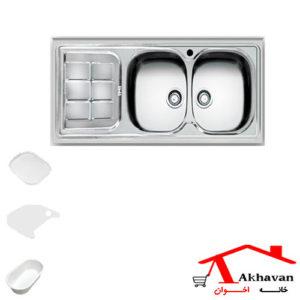 سینک ظرفشویی روکار کد 148 اخوان - خانه اخوان