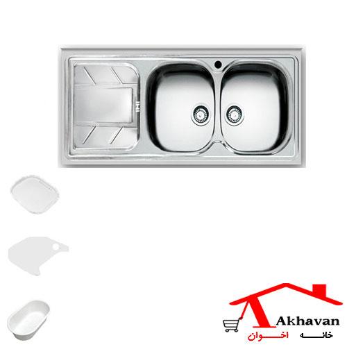 سینک ظرفشویی روکار کد 149 اخوان - خانه اخوان