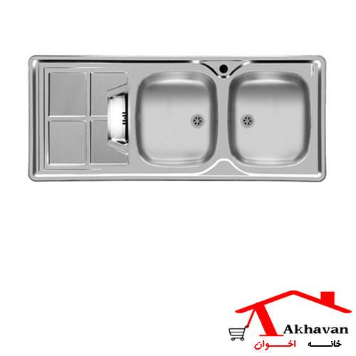 سینک ظرفشویی توکار کد 161 اخوان - خانه اخوان
