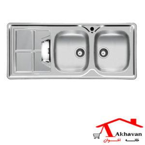 سینک ظرفشویی توکار کد 161SP اخوان - خانه اخوان
