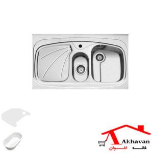 سینک ظرفشویی روکار کد 23 اخوان - خانه اخوان