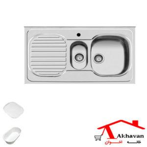 سینک ظرفشویی روکار کد 27 اخوان - خانه اخوان