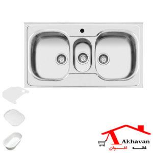 سینک ظرفشویی روکار کد 29 اخوان - خانه اخوان