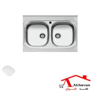 سینک ظرفشویی روکار کد 32 اخوان - خانه اخوان