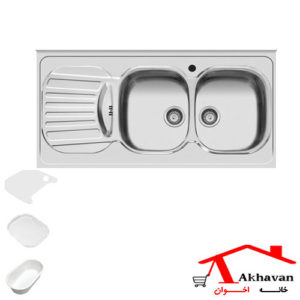 سینک ظرفشویی روکار کد 35 اخوان - خانه اخوان