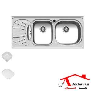 سینک ظرفشویی روکار کد 36 اخوان - خانه اخوان