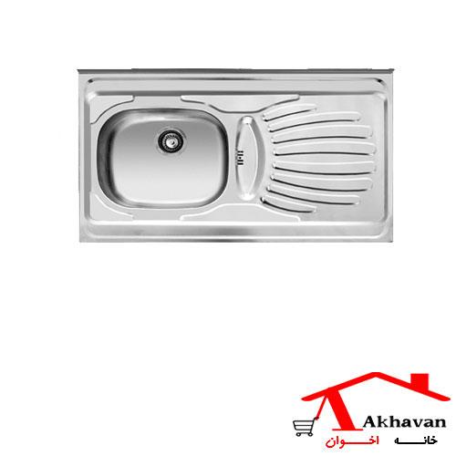 سینک ظرفشویی روکار کد 37 اخوان - خانه اخوان