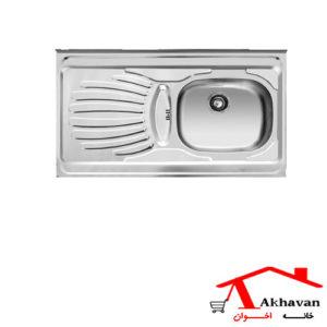 سینک ظرفشویی روکار کد 38 اخوان - خانه اخوان