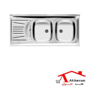 سینک ظرفشویی روکار کد 39 اخوان - خانه اخوان