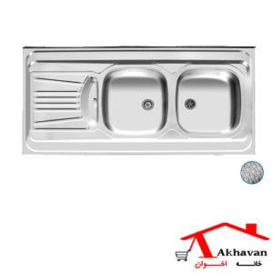 سینک ظرفشویی روکار کد 40 اخوان - خانه اخوان