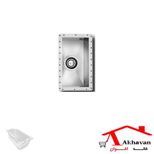 سینک ظرفشویی زیر کورینی کد 405 اخوان - خانه اخوان