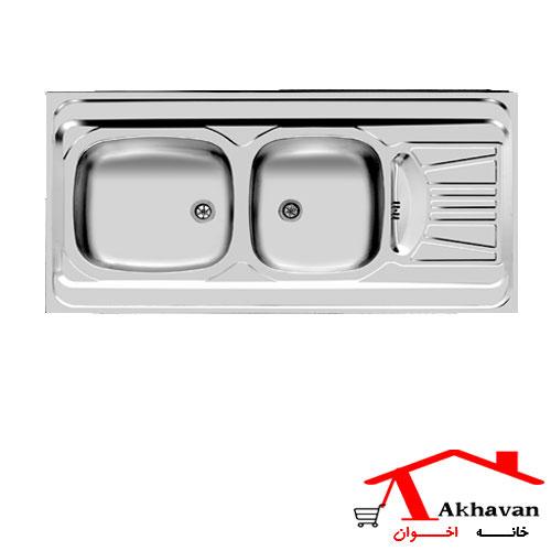 سینک ظرفشویی روکار کد 40s اخوان - خانه اخوان