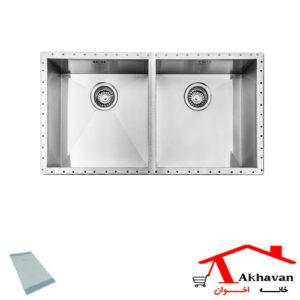 سینک ظرفشویی زیر کورینی کد 410 اخوان - خانه اخوان