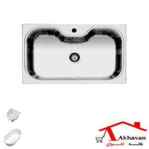 سینک ظرفشویی توکار کد 43 اخوان - خانه اخوان