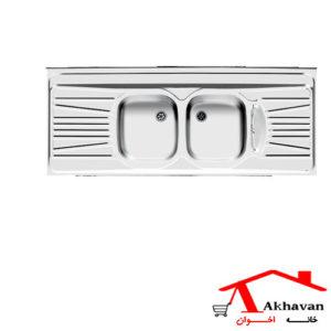 سینک ظرفشویی روکار کد 52 اخوان - خانه اخوان
