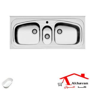 سینک ظرفشویی روکار کد 55 اخوان - خانه اخوان