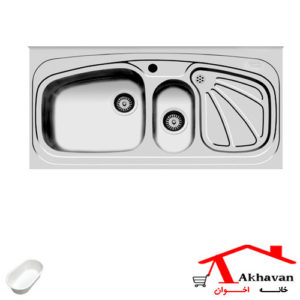 سینک ظرفشویی روکار کد 59 اخوان - خانه اخوان