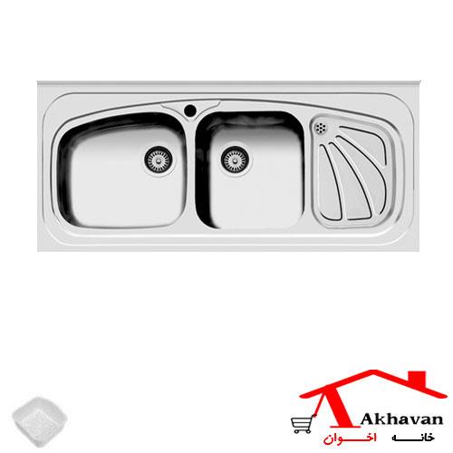 سینک ظرفشویی روکار کد 60 اخوان - خانه اخوان