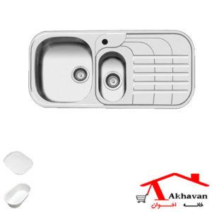 سینک ظرفشویی توکار کد 73 اخوان - خانه اخوان