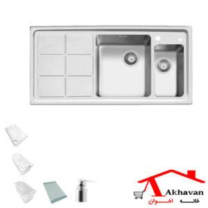 سینک ظرفشویی توکار کد 310 اخوان - خانه اخوان