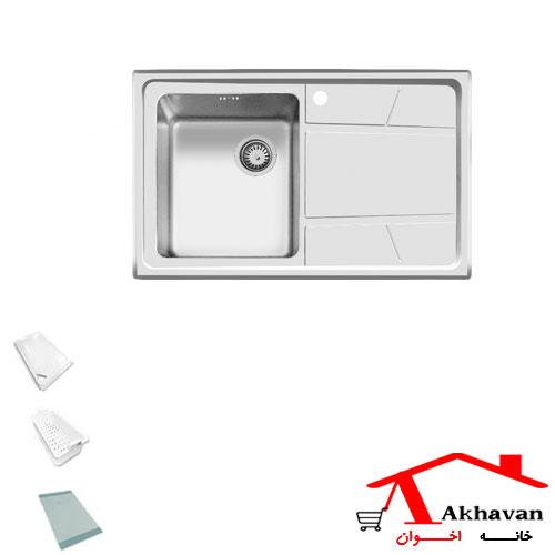 سینک ظرفشویی توکار کد 314 اخوان - خانه اخوان