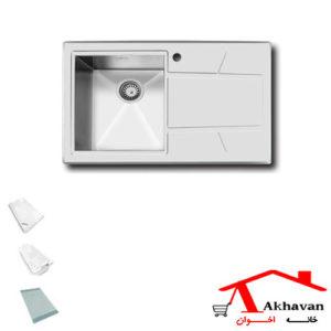 سینک ظرفشویی توکار کد 315 اخوان - خانه اخوان