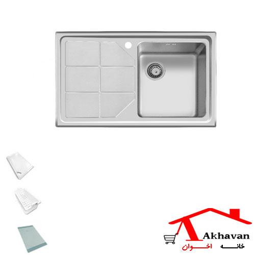 سینک ظرفشویی توکار کد 316 اخوان - خانه اخوان