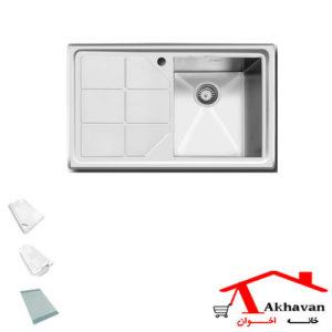 سینک ظرفشویی توکار کد 317 اخوان - خانه اخوان