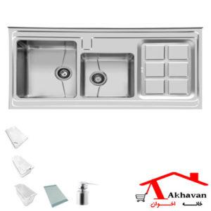سینک ظرفشویی روکار کد 320 اخوان - خانه اخوان