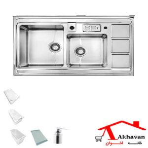 سینک ظرفشویی روکار کد 322 اخوان - خانه اخوان