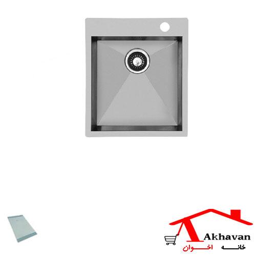 سینک ظرفشویی توکار کد 342 اخوان - خانه اخوان