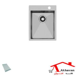 سینک ظرفشویی توکار کد 344 اخوان - خانه اخوان
